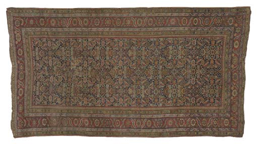 A NORTHWEST PERSIAN LONG RUG,