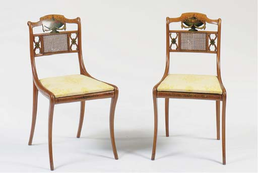 A PAIR OF EDWARDIAN POLYCHROME