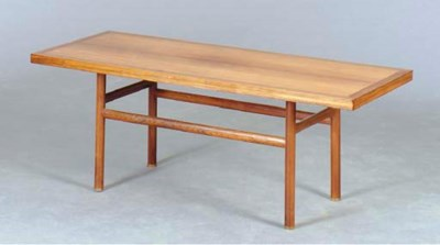 A DANISH WALNUT AND ROSEWOOD R