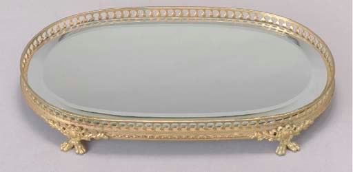 A GILT-BRONZE SURTOUT DE TABLE