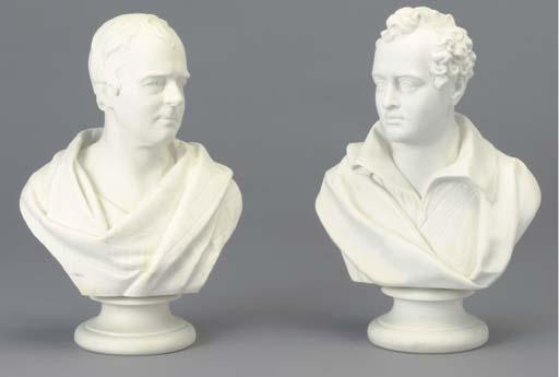 TWO WEDGEWOOD PARIAN PORTRAIT