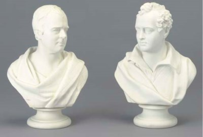 TWO WEDGEWOOD PARIAN PORTRAIT