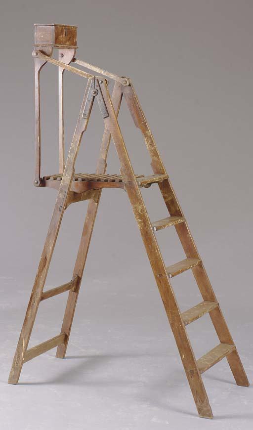 A PAINTER'S LADDER,