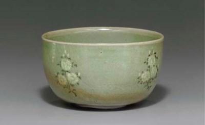 An Inlaid Celadon Deep Bowl