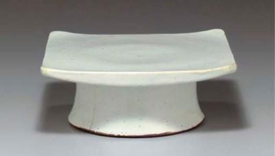 A White Porcelain Ritual Stand