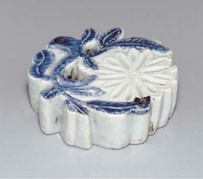 A Flower-form Porcelain Water