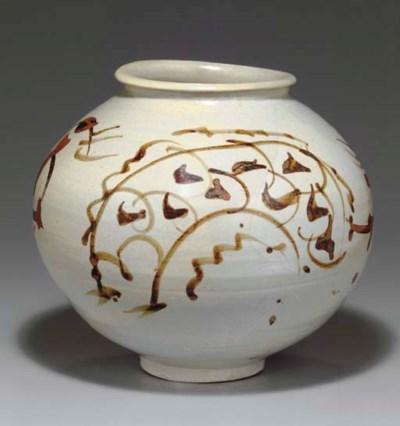 An Iron-Decorated Porcelain Ja