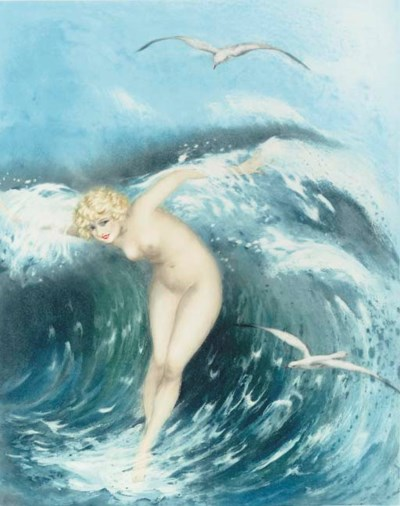 'Venus in the Waves', designed