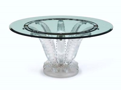 A Glass 'Cactus' Table, model