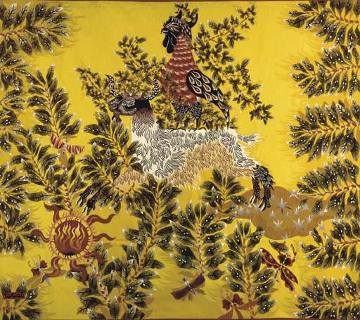 'Tehran' An Aubusson Wool Tape