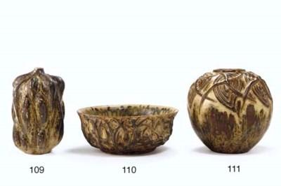 A Glazed Ceramic Vase, 1940s