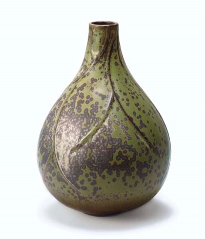 A Glazed Ceramic Vase, 1940s