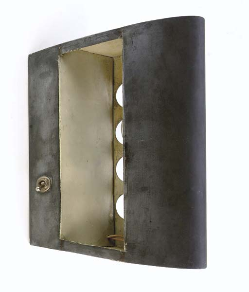 A Metal Wall Light, 1956-59