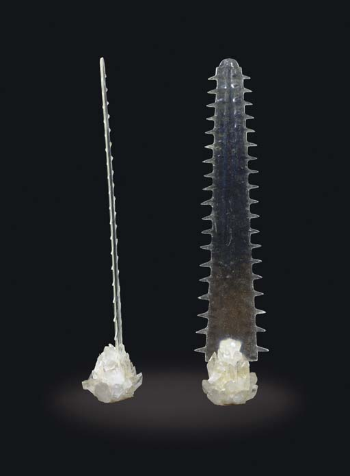 A Pair of Rock Crystal and Res