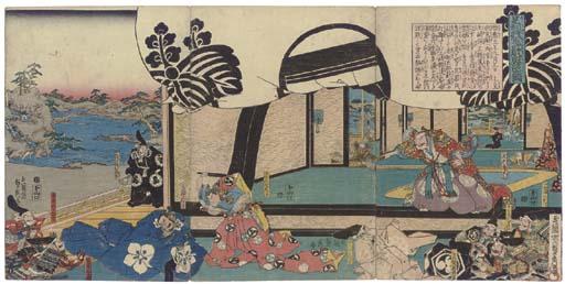 Hashimoto Sadahide (1807-1878/