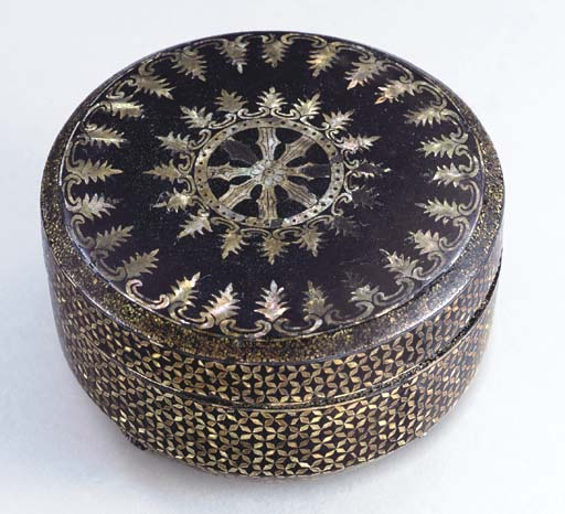 A Namban-Style Export Lacquer