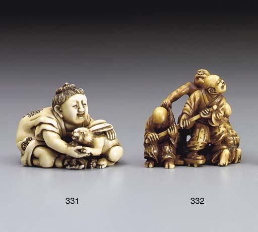 Two Ivory Netsuke**