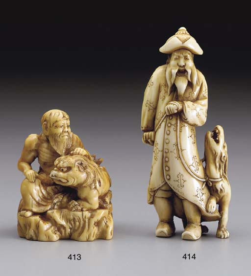 An Edo-School Ivory Netsuke**