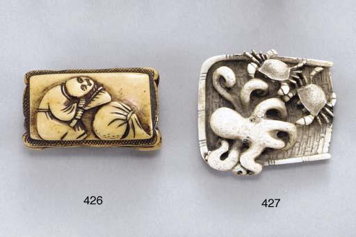 Three Ivory Netsuke**