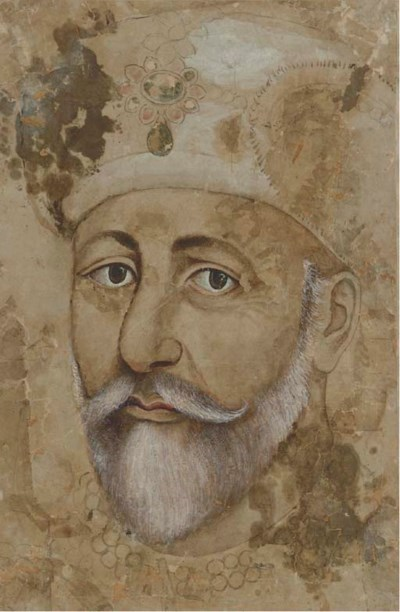 A Portrait of Bahadur Shah II