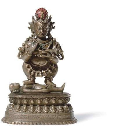 A bronze figure of Panjarnata