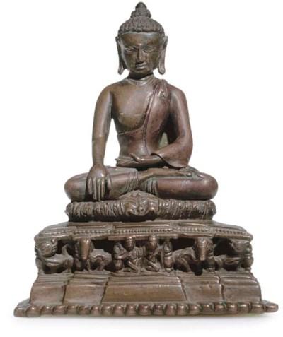 A large Wood figure of Avaloki