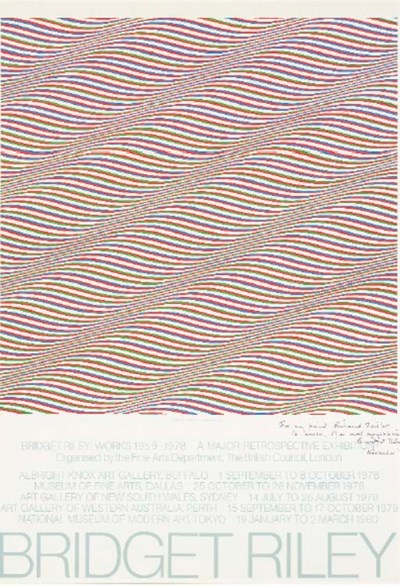 AFTER BRIDGET RILEY (B. 1931)
