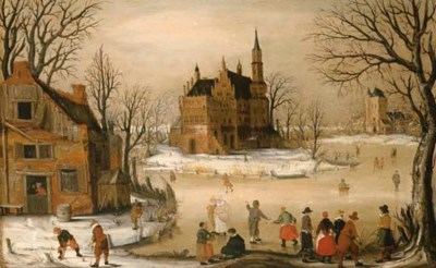 Circle of Hendrick Avercamp (A