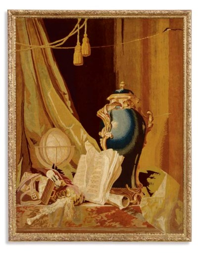 A LOUIS XV SAVONNERIE PANEL OF