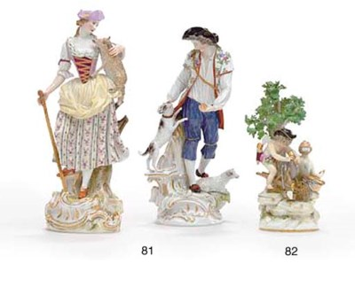 A MATCHED PAIR OF MEISSEN MODE