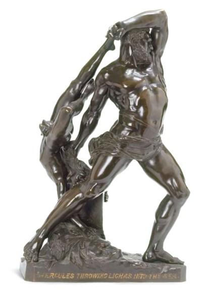 An Italian bronze group of Her