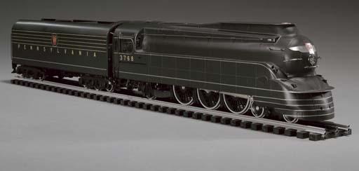 PRR K4s Pacific #3750 | Pennsylvania Railroad K4s Pacific