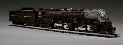 A Norfolk & Western Class A 2-