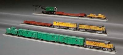 A Union Pacific Wreck Train Se