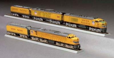 Union Pacific 2-Unit and 3-Uni