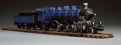 A Bavarian State Railway 4-6-2
