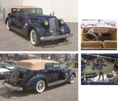 1937 PACKARD 1502 CONVERTIBLE