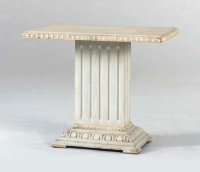 A NEO-CLASSICAL STYLE WHITE-PA