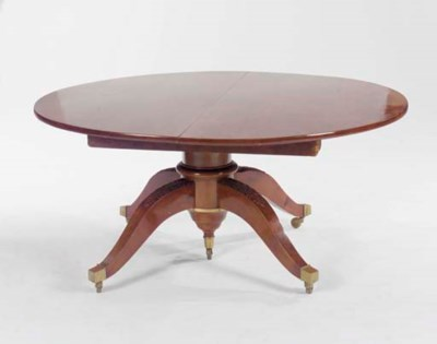 A LOUIS PHILIPPE MAHOGANY EXTE