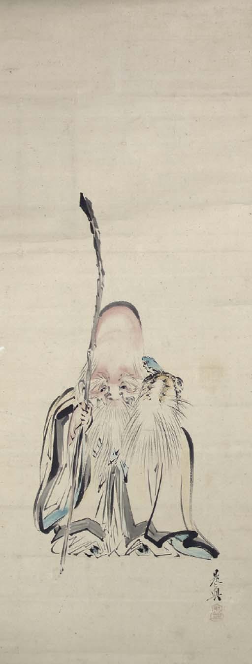 STYLE OF SHIBATA ZHESIN (1807-1891),