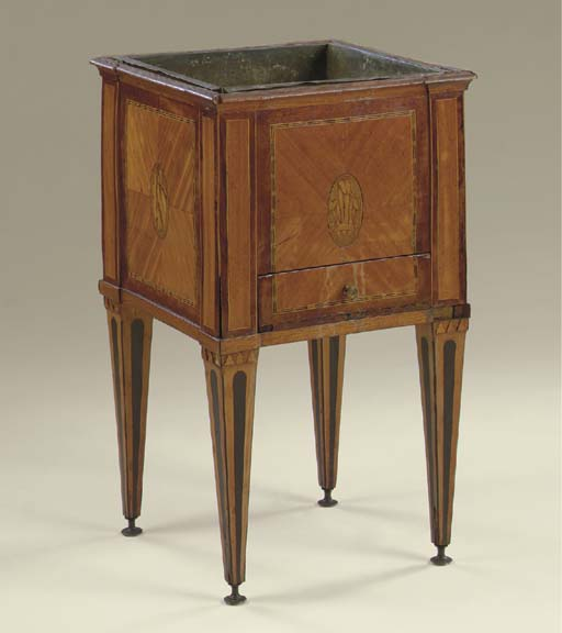 A DUTCH SATINWOOD, AMARANTH, E