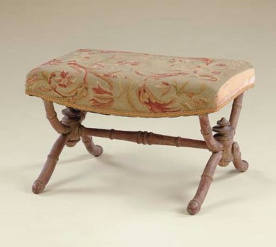 AN ENGLISH FOOTSTOOL