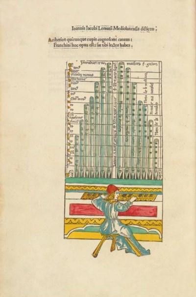 GAFURIUS, Francinus (1451-1522