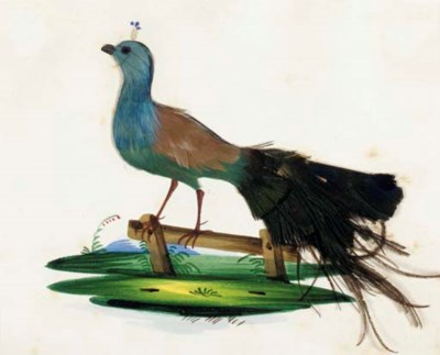 [ORNITHOLOGY.] Collection of 1