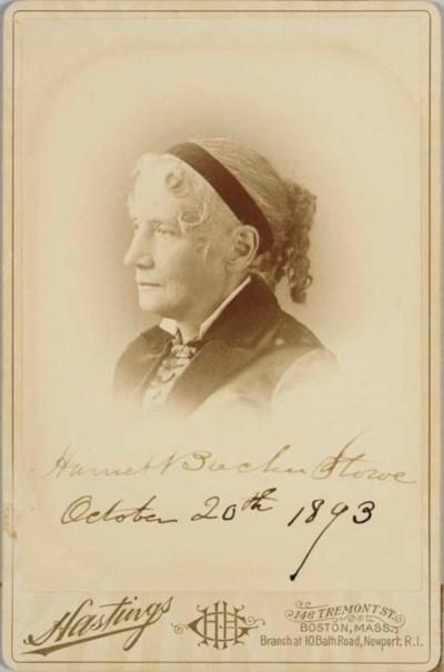 STOWE, Harriet Beecher (1811-1
