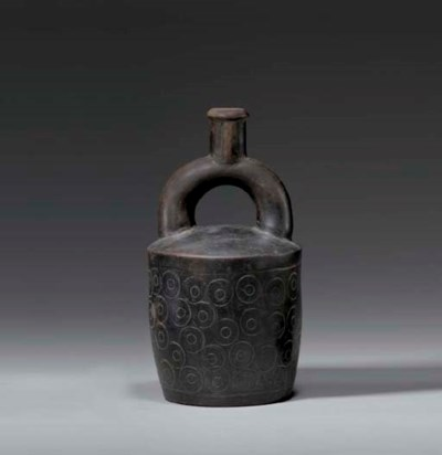 CHAVIN BLACKWARE VESSEL
