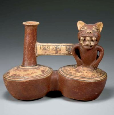 INCA DOUBLE-BODIED VESSEL
