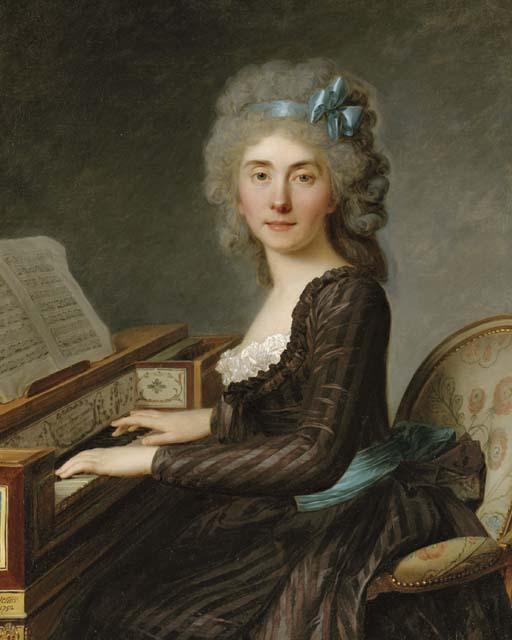 Antoine Vestier (Avallon 1740-1824 Paris)
