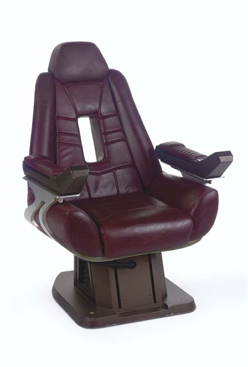 ENTERPRISE E CAPTAINu0027S CHAIR