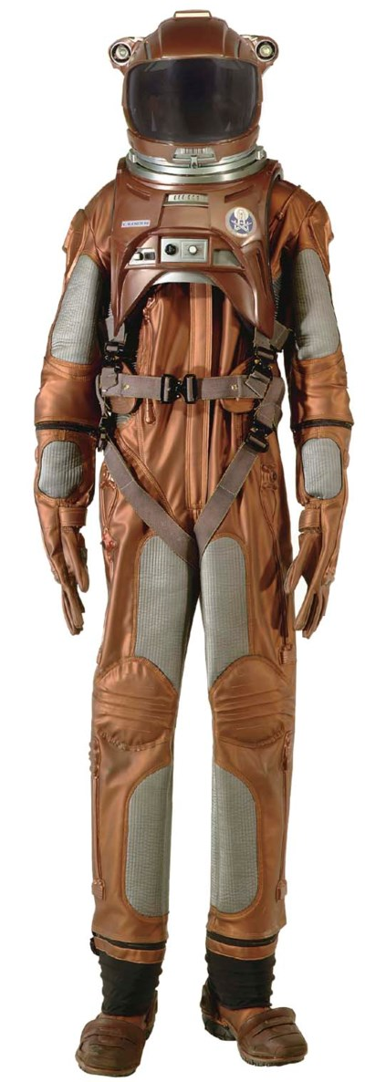 ARCHER'S SPACE SUIT AND ACCESS